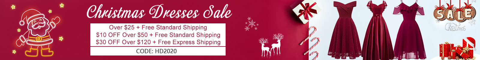 christmas dresses sale