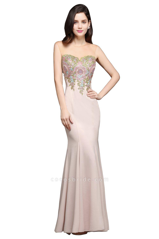 Marvelous Jewel Stretch Satin Mermaid Evening Dress