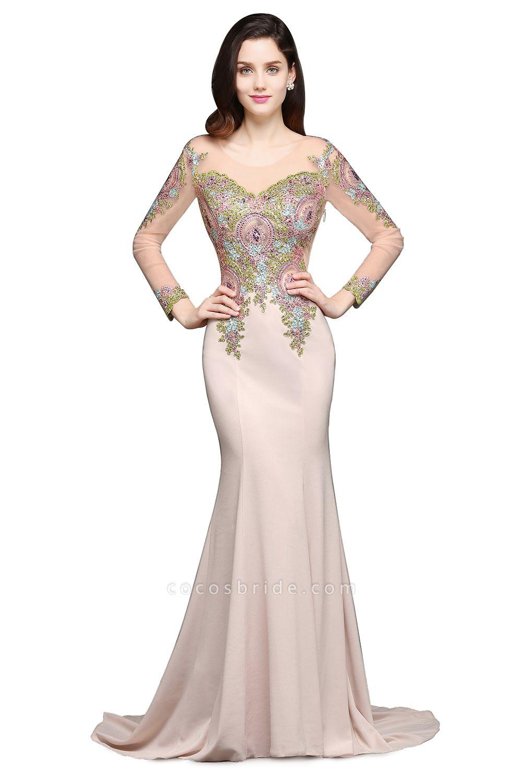 Excellent Scoop Stretch Satin Mermaid Evening Dress