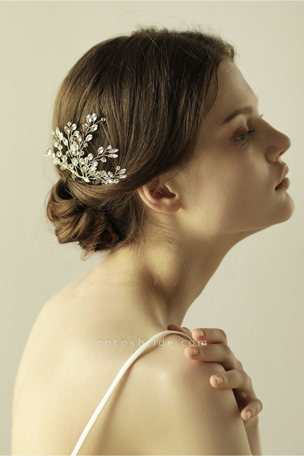 glamourous Alloy Party Combs-Barrettes Headpiece with Crystal