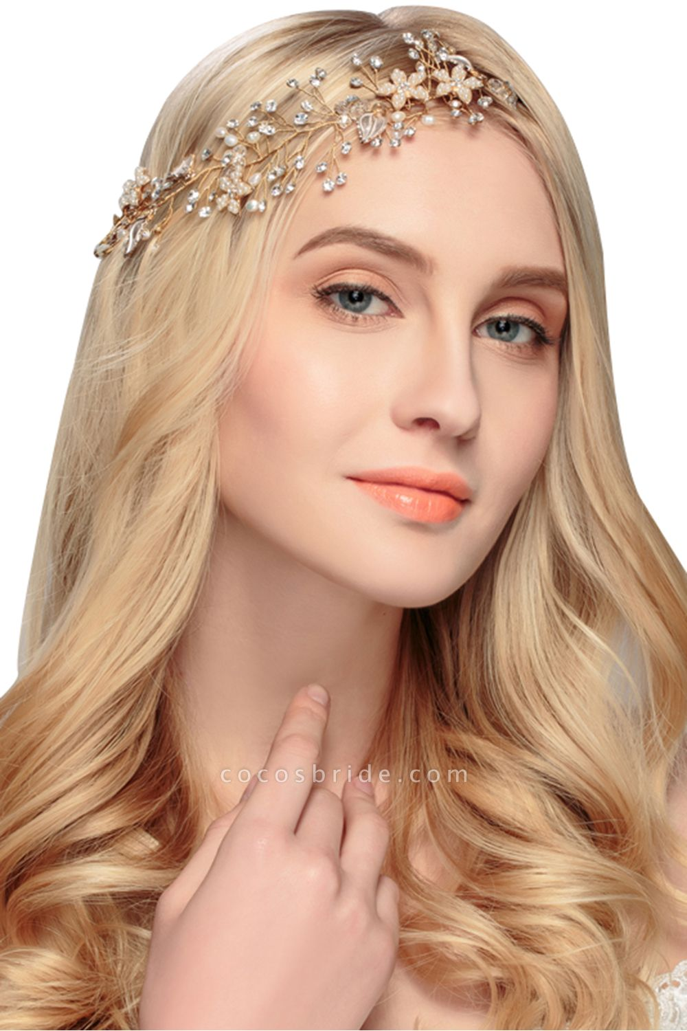 Glamourous Alloy&Imitation Pearls Special Occasion&Party Headbands Headpiece with Rhinestone