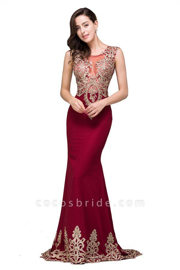 Eye-catching Jewel Taffeta Mermaid Evening Dress