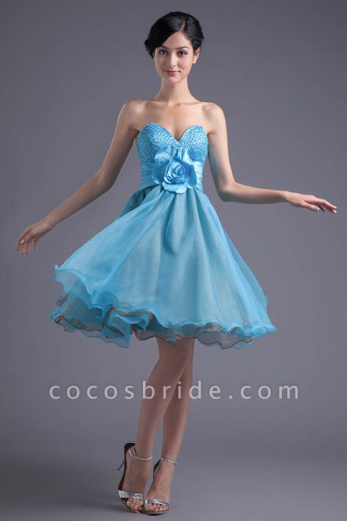 Best Strapless Chiffon A-line Bridesmaid Dress