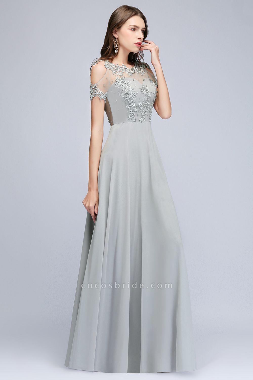 Fabulous Jewel Chiffon A-line Prom Dress