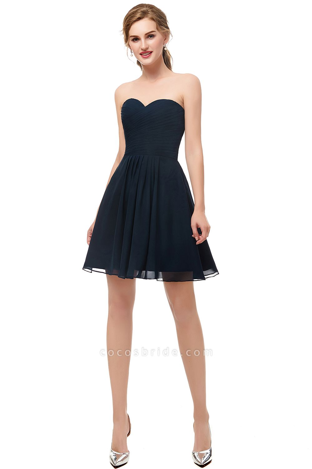 Fascinating Sweetheart Chiffon A-line Homecoming Dress