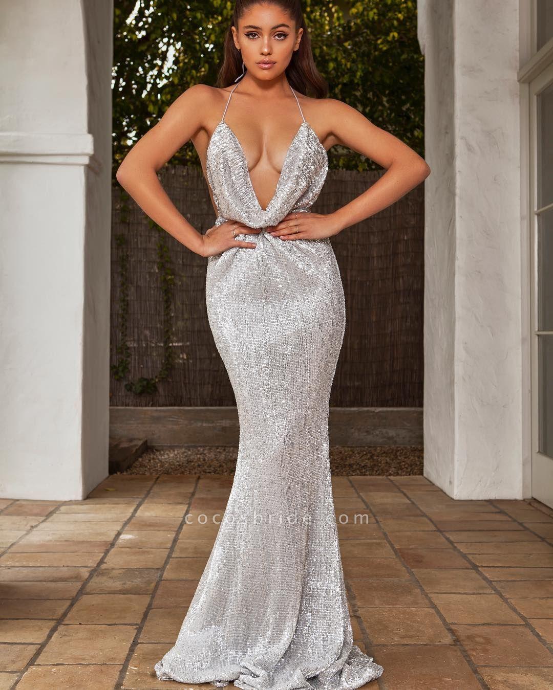 Amazing V-neck Mermaid Prom Dress