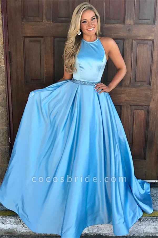 Graceful Jewel Lace A-line Prom Dress