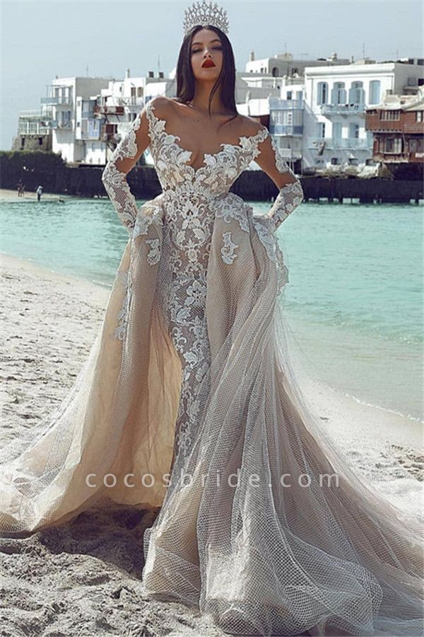 Wonderful V-neck Appliques Ball Gown Prom Dress
