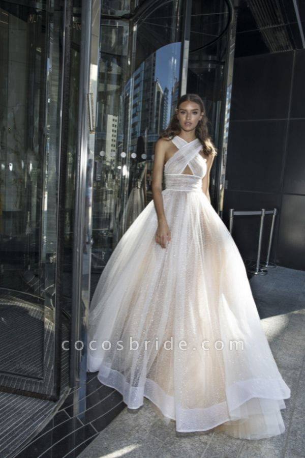 Eye-catching Sequined A-line Prom Dress