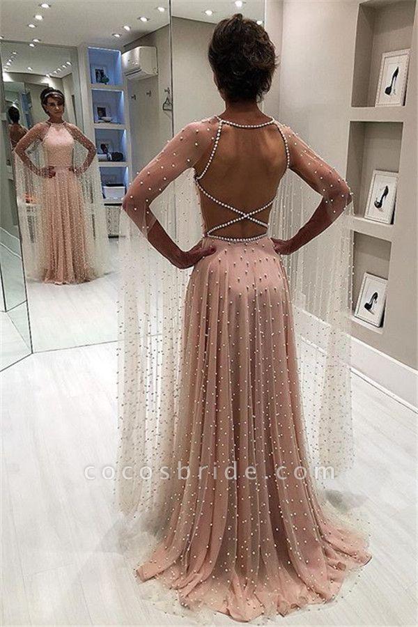 Wonderful Jewel Beading A-line Prom Dress