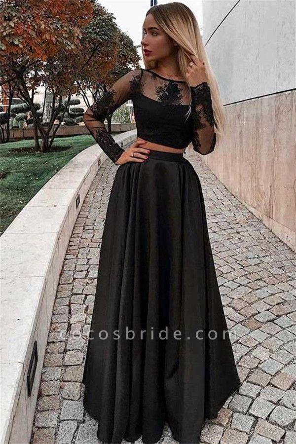 Eye-catching Jewel Appliques A-line Prom Dress