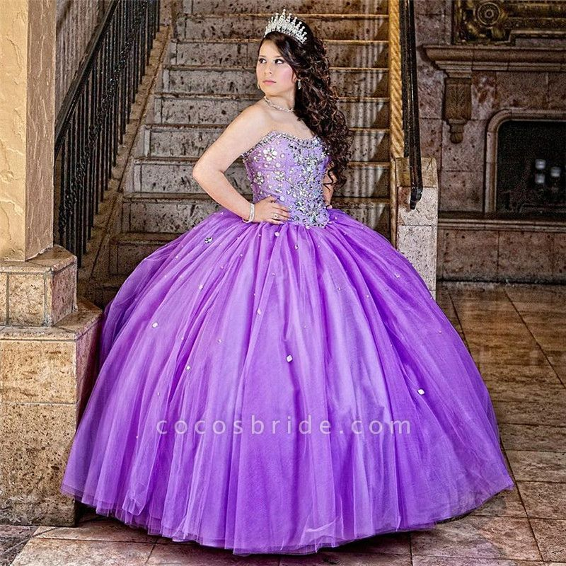 Marvelous Sweetheart Tulle Ball Gown Quinceanera Dress