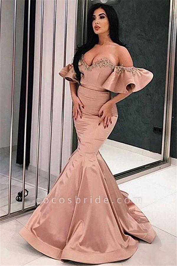 Best Sweetheart Satin Mermaid Evening Dress
