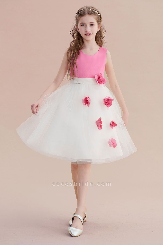 Affordable Tulle A-line Flower Girl Dress