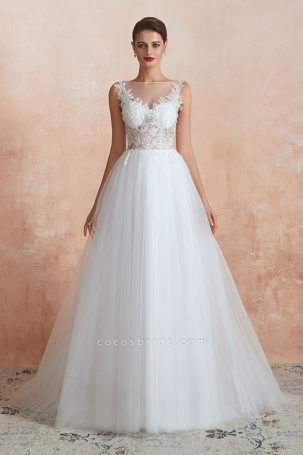 https://www.cocosbride.com/graceful-sequins-tulle-a-line-wedding-dress-g502?cate_2=45