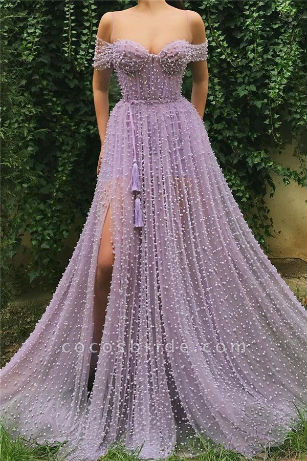 Beautiful Sweetheart Tulle A-line Prom Dress