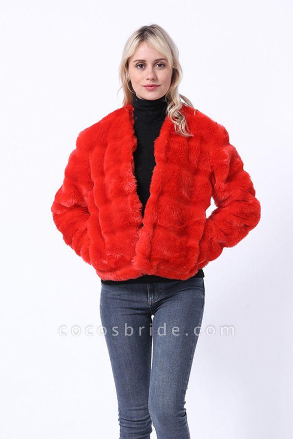 Women's Winter Short Fur Coat