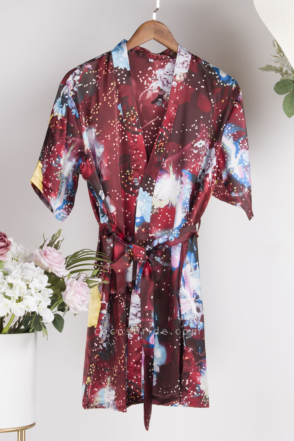 Affordable Printed Bridesmaid Bridal Robes