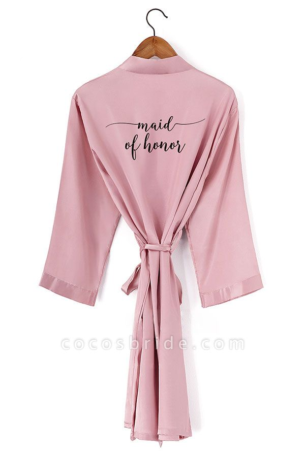 Non-personalized Wedding Gifts Bridesmaid Robes