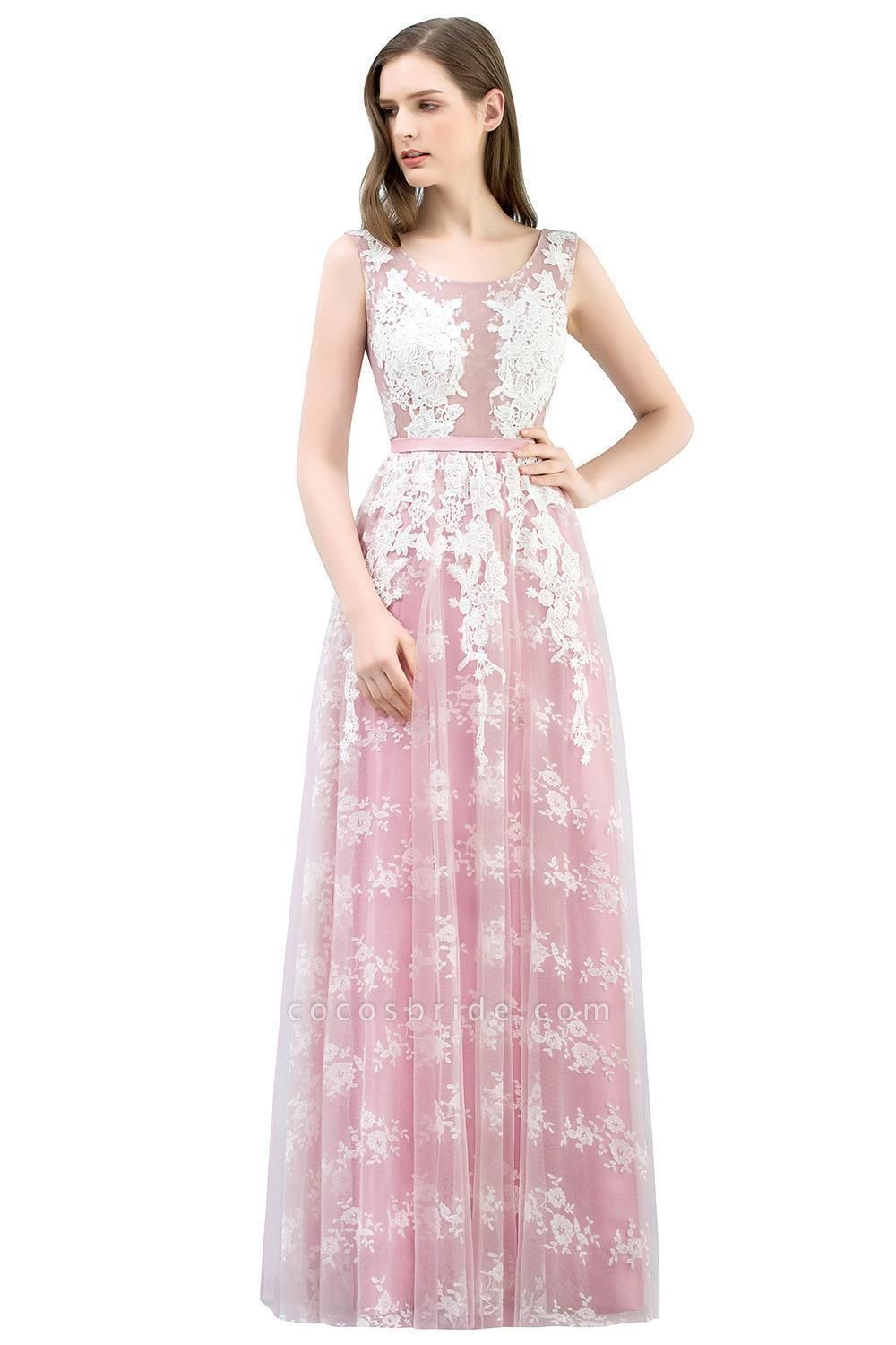 Affordable Square Tulle A-line Evening Dress