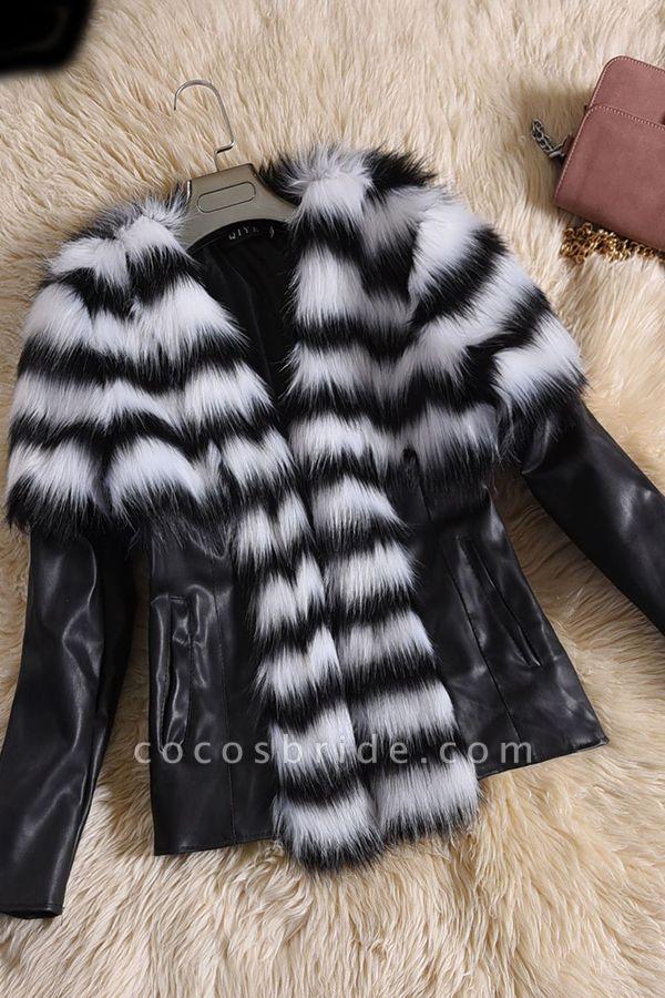 Women's Basic Winter Short Fur Coat