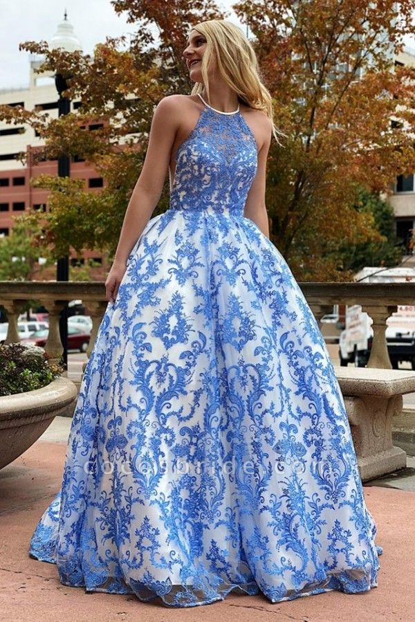 Eye-catching Jewel Lace Ball Gown Prom Dress