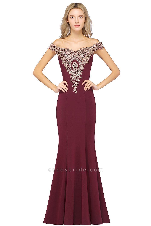 Elegant Bateau Healthy Mermaid Evening Dress