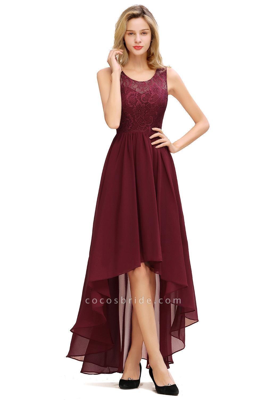 Best Chiffon A-line Evening Dress