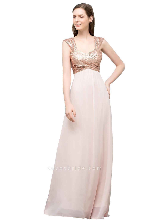 Chic Off-the-shoulder Chiffon A-line Evening Dress