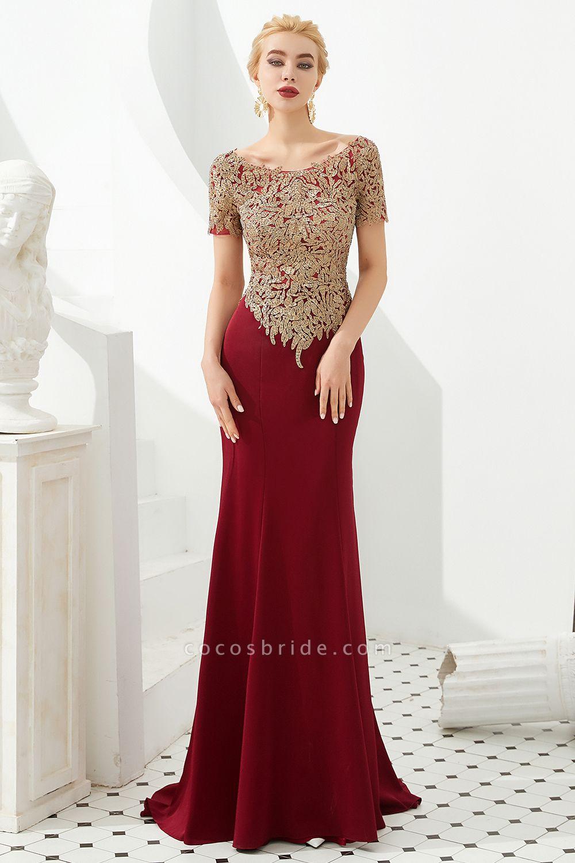 Precious Jewel Four-sided bomb Mermaid Prom Dress