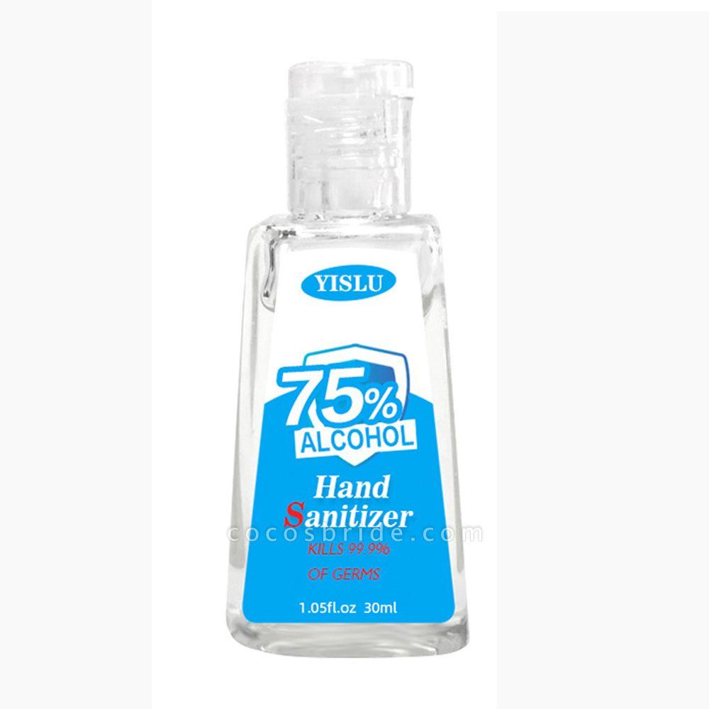 20 Bottles*30ml Travel Portable Hand Sanitizer Gel Anti-Bacteria Disposable Anti-Bacteria Hands-Free Water