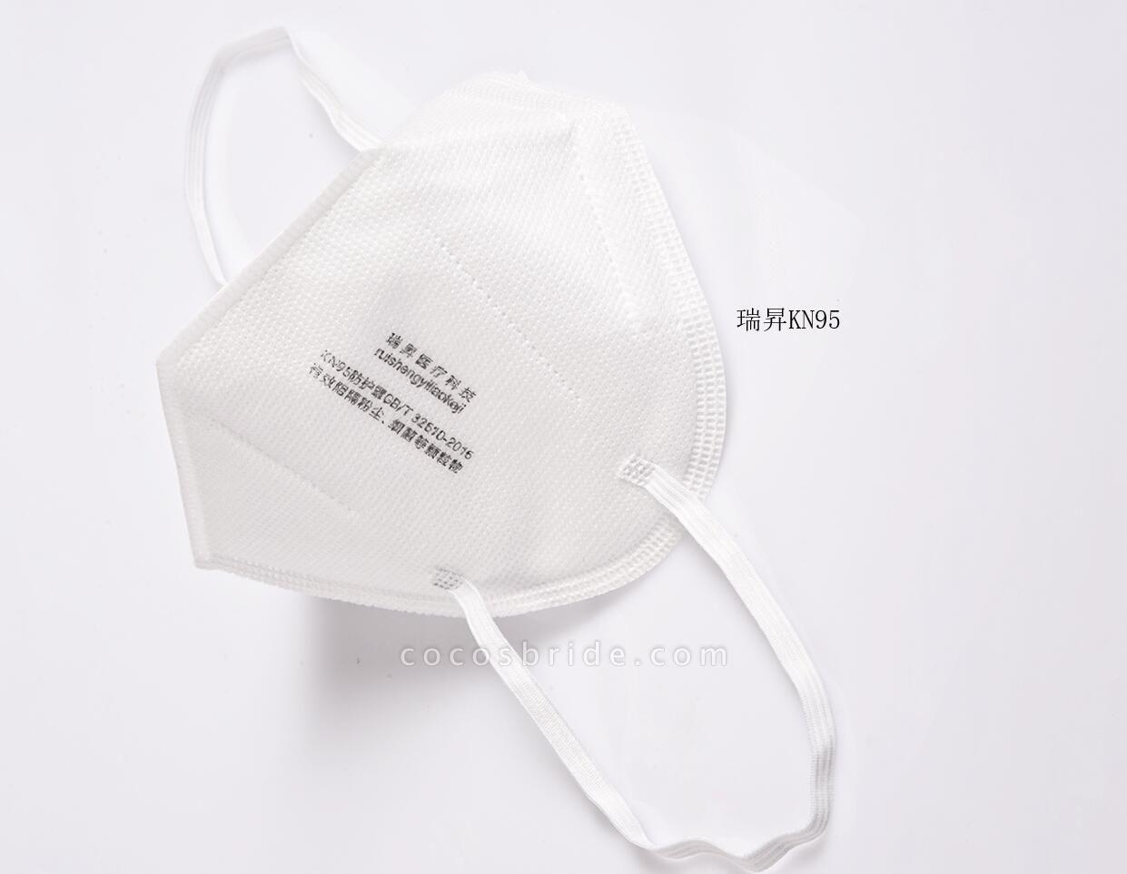 KN95 Protective Dustproof Respirators Face Masks 10 Pieces