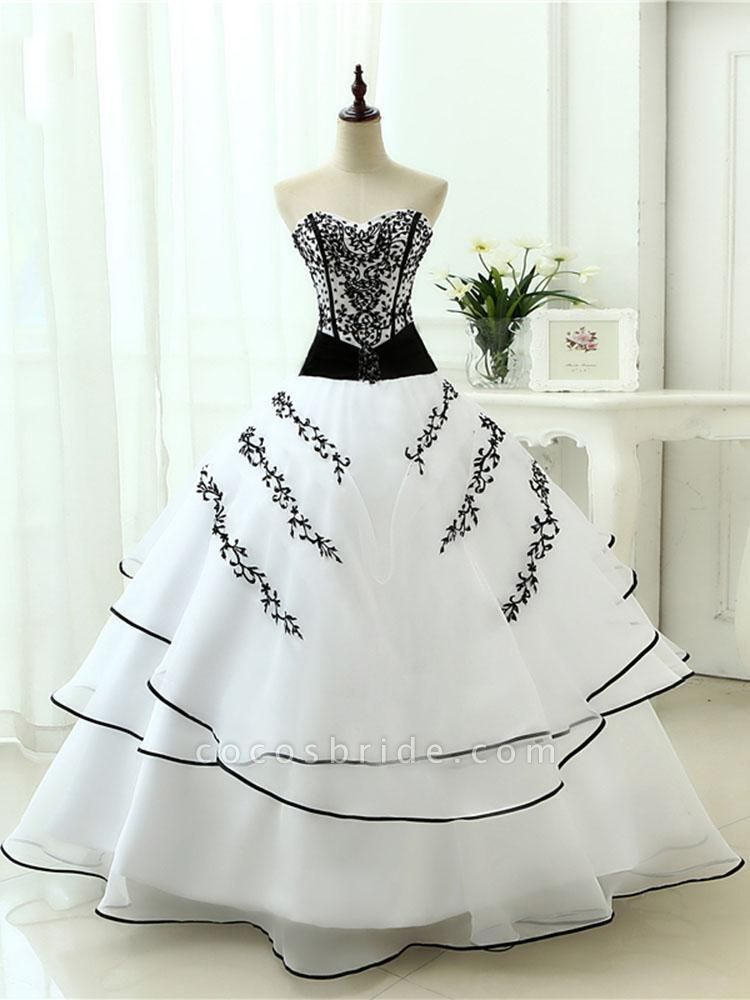 Glamorous Sweetheart Ball Gown Wedding Dresses