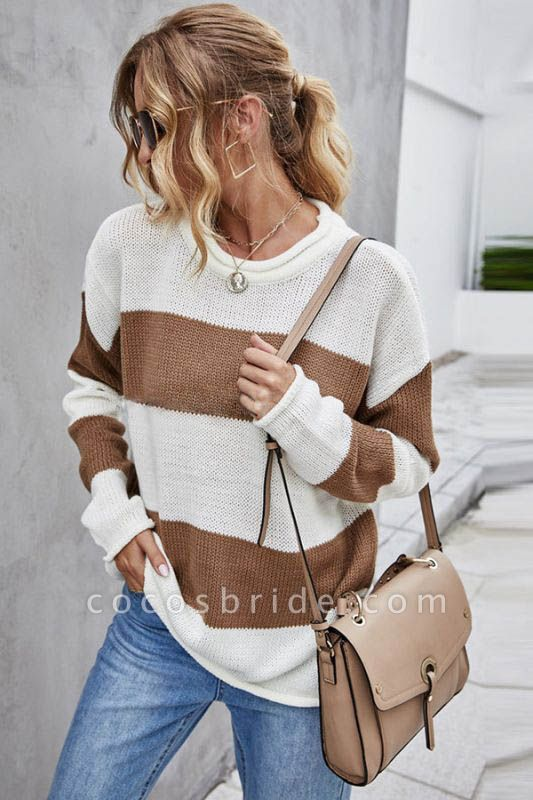 SD1900 Long Sleeve Knitted Sweater