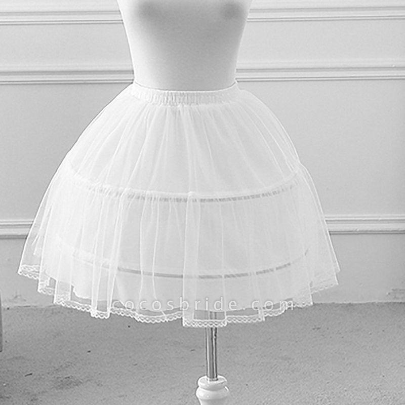 Flower Girl Polyester Petticoat
