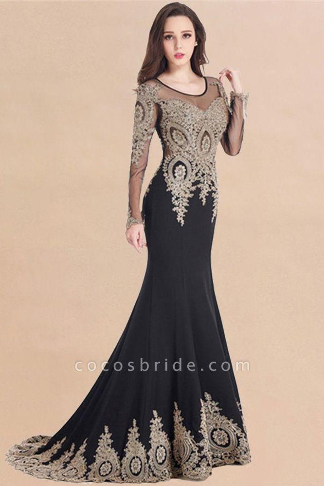 Beautiful Jewel Stretch Satin Mermaid Prom Dress