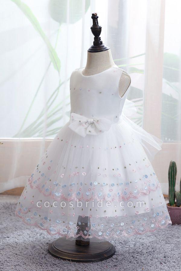 FS9970 Bow Scoop Sleeveless Ball Gown Wedding Dress