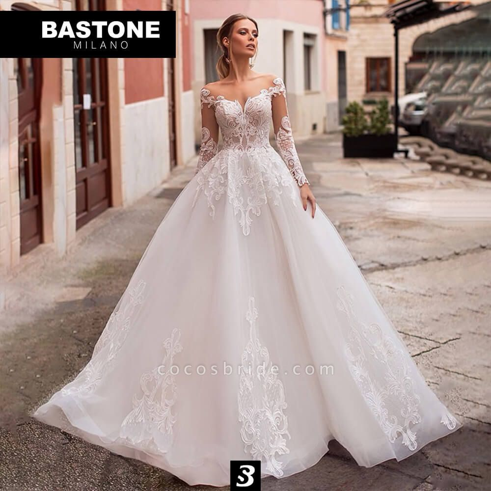 CN701L Wedding Dresses A Line Ball Gown Confidence Collection