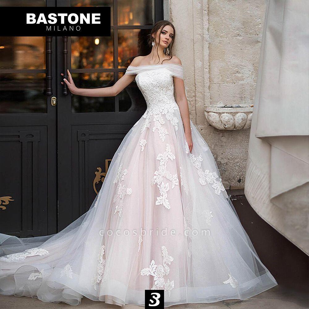 LL171L Wedding Dresses A Line Luxury Line