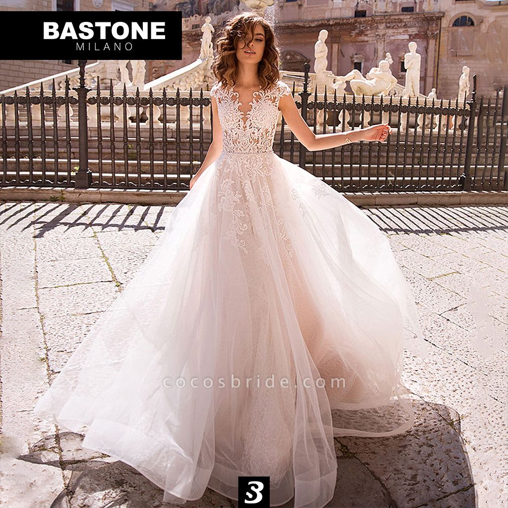 IC157L Wedding Dresses A Line Innocenza Collection