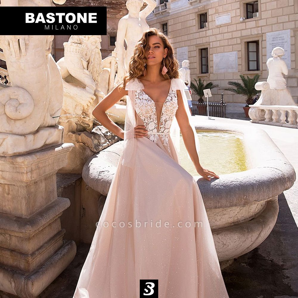CC082L Wedding Dresses A Line Confidence Collection