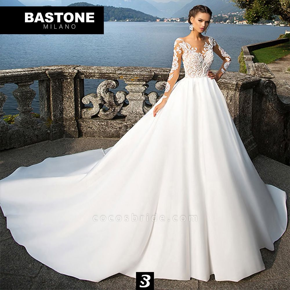 IC018L Wedding Dresses Ball Gown Innocenza Collection