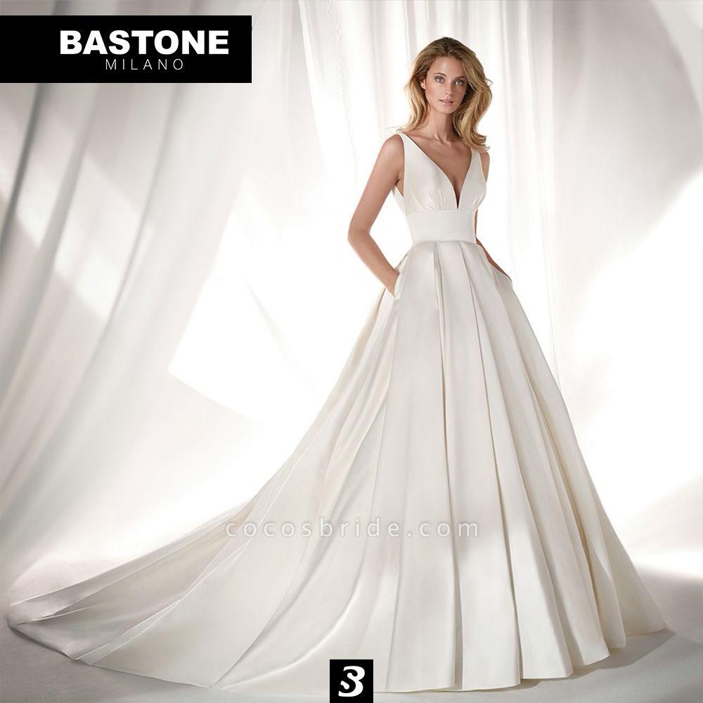 CC010L Wedding Dresses A Line Confidence Collection