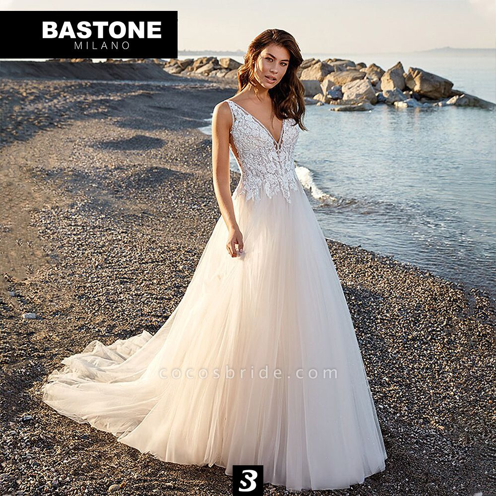 IC146L Wedding Dresses A Line Innocenza Collection