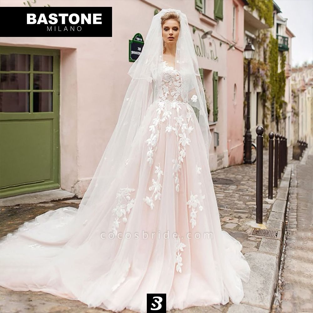 CC004L Wedding Dresses A Line Ball Gown Confidence Collection