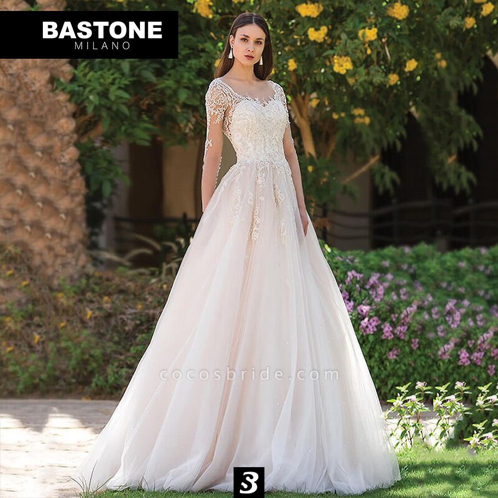 IC153L Wedding Dresses A Line Innocenza Collection