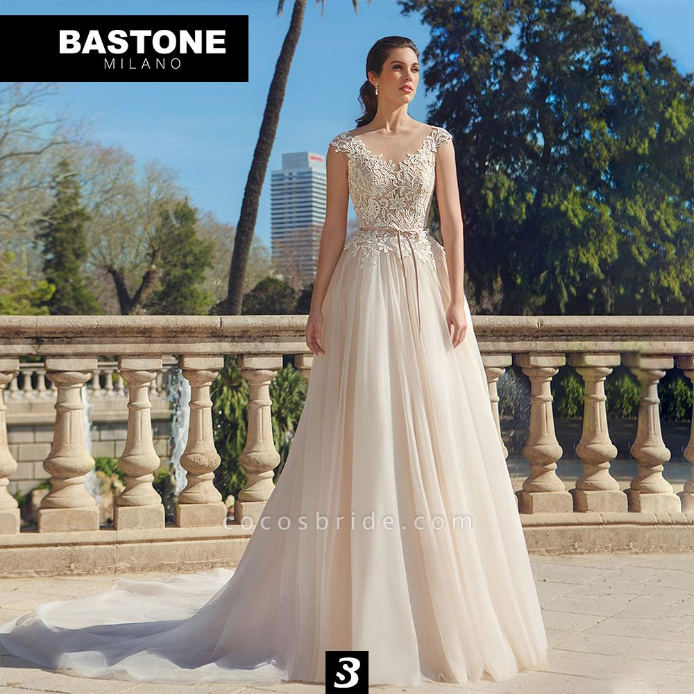 IC135L Wedding Dresses A Line Innocenza Collection