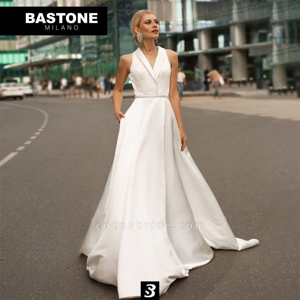 LL049L Wedding Dresses A Line Luxury Line