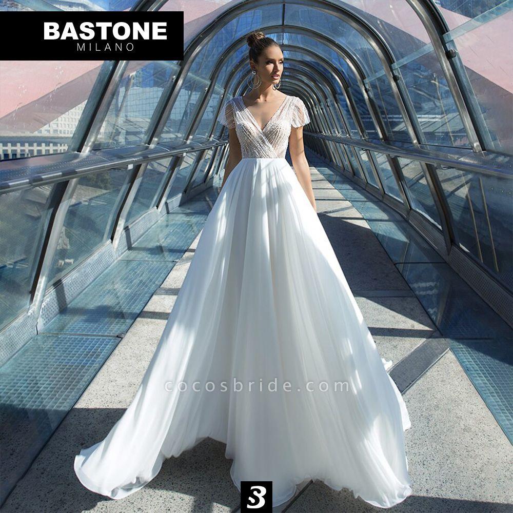CC091L Wedding Dresses A Line Confidence Collection