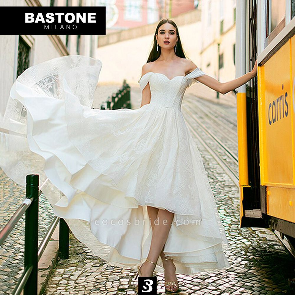 CC086L Wedding Dresses A Line Confidence Collection